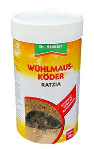 Wühlmausköder Ratzia - 250 g Dr. Stähler