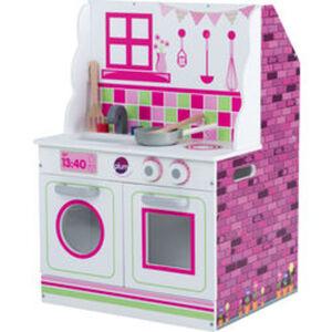 plum® 2 in 1 Holzküche und Puppenhaus