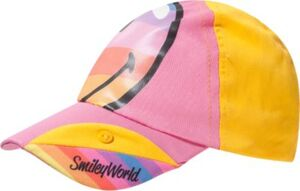 SMILEY WORLD Cap  rosa/gelb Gr. 54 Mädchen Kinder
