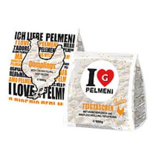 """Teigtaschen """"I Love Pelmeni Chicken"""" mit Haehnchenfleisch- u..."""