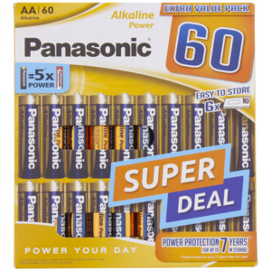 Panasonic Batterien AA