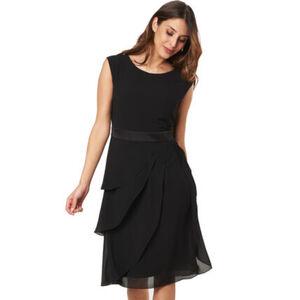 Adagio Kleid, Taillenband, Layer-Look, für Damen