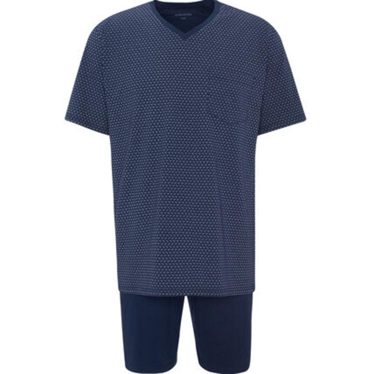 Bild 1 von Seidensticker Schlafanzug, kurz, Kurzarm, gemustert, für Herren
