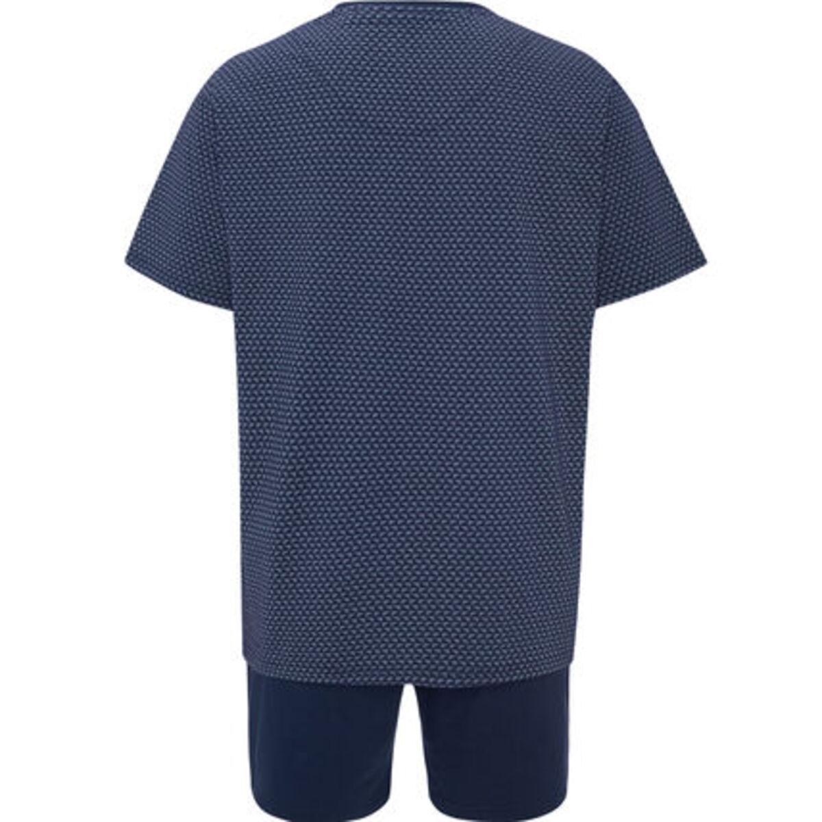 Bild 2 von Seidensticker Schlafanzug, kurz, Kurzarm, gemustert, für Herren