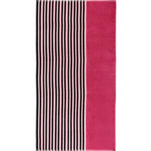 "Galeria home Strandlaken ""Clean Stripe pink"", 83x160 cm, pink"