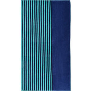 "Galeria home Strandlaken ""Clean Stripe blue"", 83x160 cm, blau"