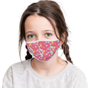 Mund-Nasenmasken, 2er-pack, Print, verstellbare Bänder, für Mädchen