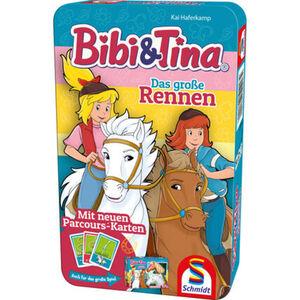 Schmidt Spiele Bibi & Tina - Das große Rennen, Reiseversion
