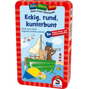 Schmidt Spiele Ene Mene Muh - Eckig, rund, kunterbunt
