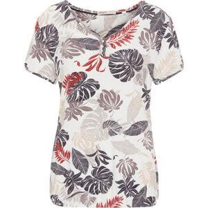 Adagio Shirt, Knopfleiste, Gummibund, für Damen