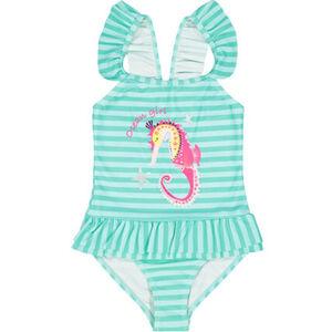 MANGUUN Badeanzug Streifen, für Baby Mädchen