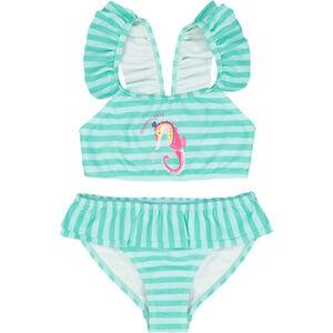 MANGUUN Bikini, Seepferdchen, Raffung, für Baby Mädchen