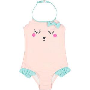 MANGUUN Badeanzug, Motiv, Schleife, für Baby Mädchen
