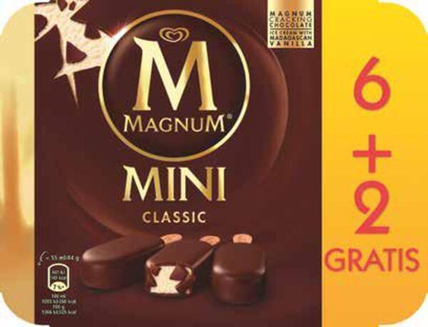 Magnum Mini 6 + 2 gratis