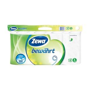 Zewa bewährt Toilettenpapier 16 x 150-Blatt, 3-lagig, jede Packung