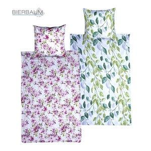 Bettwäsche versch. Qualitäten und Dessins 100 % Baumwolle