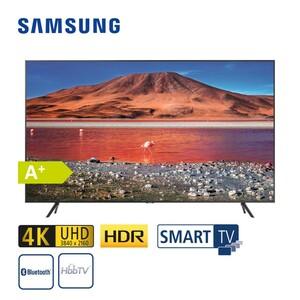 """GU55TU7179 • 2 x HDMI, USB, CI+ • integr. Kabel-, Sat und DVB-T2-Receiver • Maße: H 70,7 x B 123,1 x T 6 cm • Energie-Effizienz A+ (Spektrum A+++ bis D), Bildschirmdiagonale: 55""""/138 cm"""