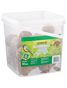 Vogelfutter »Meisenknödel ohne Netz«, Getreide, 2,55 kg