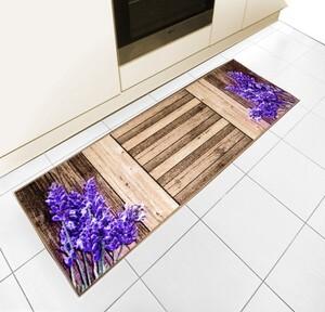 Bella Casa Bedruckter Motiv-Teppichläufer, ca. 50 x 140 cm - Lavendel