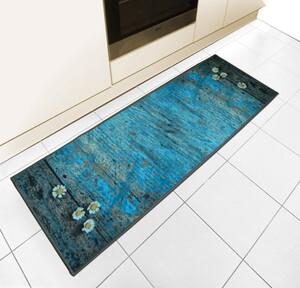 Bella Casa Bedruckter Motiv-Teppichläufer, ca. 50 x 140 cm - Mohnblumen