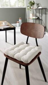 "Bella Casa Multi-Stepp Sitzissen ""Muri"", ca. 40 x 40 cm - Offwhite"
