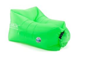 Seatzac Air-Lounger mit integrierter Powerbank - Wild Green