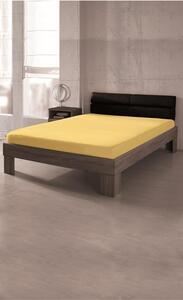 Dreamtex Jersey Spannbetttuch 90-100x200cm, gelb