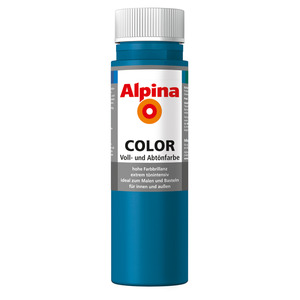 Alpina Color Voll- und Abtönfarbe 'Cool Blue' seidenmatt 250 ml