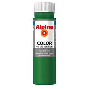 Alpina Color Voll- und Abtönfarbe 'Jungle Green' seidenmatt 250 ml