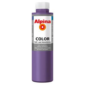 Alpina Color Voll- und Abtönfarbe 'Sweet Violet' seidenmatt 750 ml