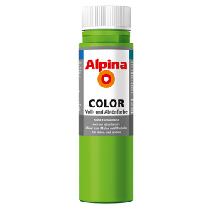Alpina Color Voll- und Abtönfarbe 'Grass Green' seidenmatt 250 ml