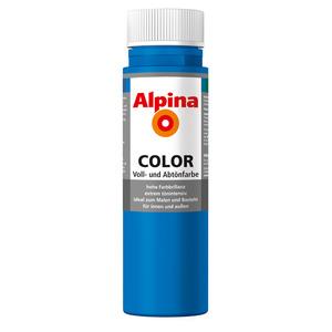 Alpina Color Voll- und Abtönfarbe 'Royal Blue' seidenmatt 250 ml