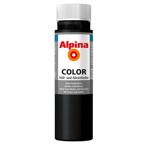 Color Voll- und Abtönfarbe 'Night Black' seidenmatt 250 ml