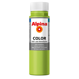 Alpina Color Voll- und Abtönfarbe 'Power Green' seidenmatt 250 ml