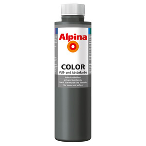 Color Voll- und Abtönfarbe 'Dark Grey' seidenmatt 750 ml