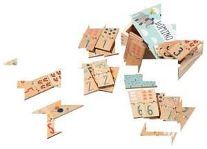 IDEENWELT Holz-Domino