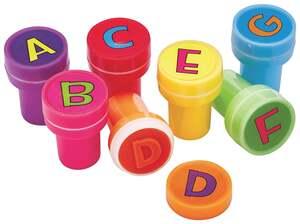 IDEENWELT Kinderstempel-Set, ABC