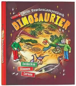 """IDEENWELT Mein Taschenlampenbuch """"Dinosaurier"""""""