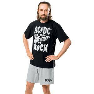 AC/DC Herren Schlafanzug - Größe M