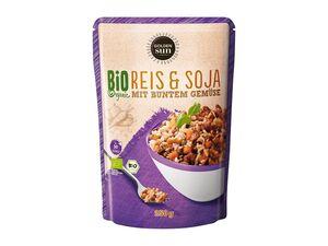 Bio-Reis und Soja