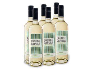 6 x 0,75-l-Flasche BIO Pasos de la Capula Verdejo VdT trocken, Weißwein