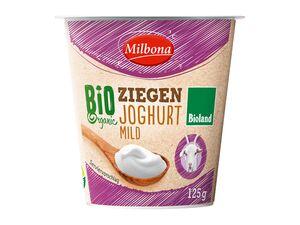 Bioland-Ziegenjoghurt, mild