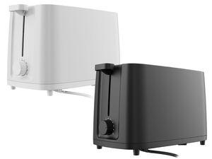 SILVERCREST® Toaster »STK 870 A1«, 800 Watt, mit 6-Stufen-Bräunungsregler, Brötchenaufsatz