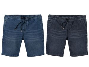 LIVERGY® Herren Jeans-Bermudas
