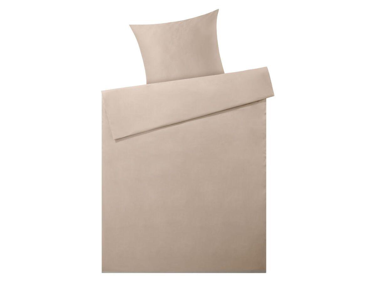 Bild 4 von MERADISO® Satin Bettwäsche, 155 x 200 cm, mit Reißverschluss, aus reiner Bio-Baumwolle