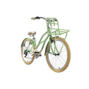 KS Cycling Cargo-Beachcruiser 6 Gänge Kahuna 26 Zoll für Damen