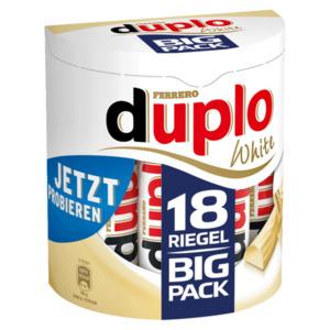 Ferrero Duplo White Team 18er 328g