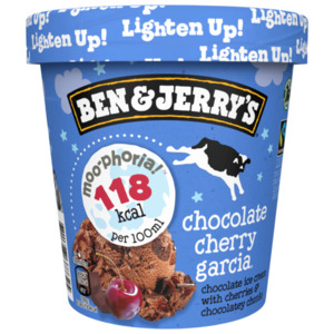 Ben & Jerry's Chocolate Cherry Garcia 465ml