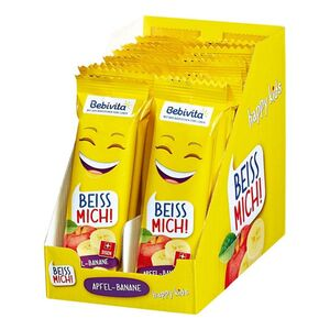Bebivita Früchte Riegel Apfel Banane 25 g, 20er Pack