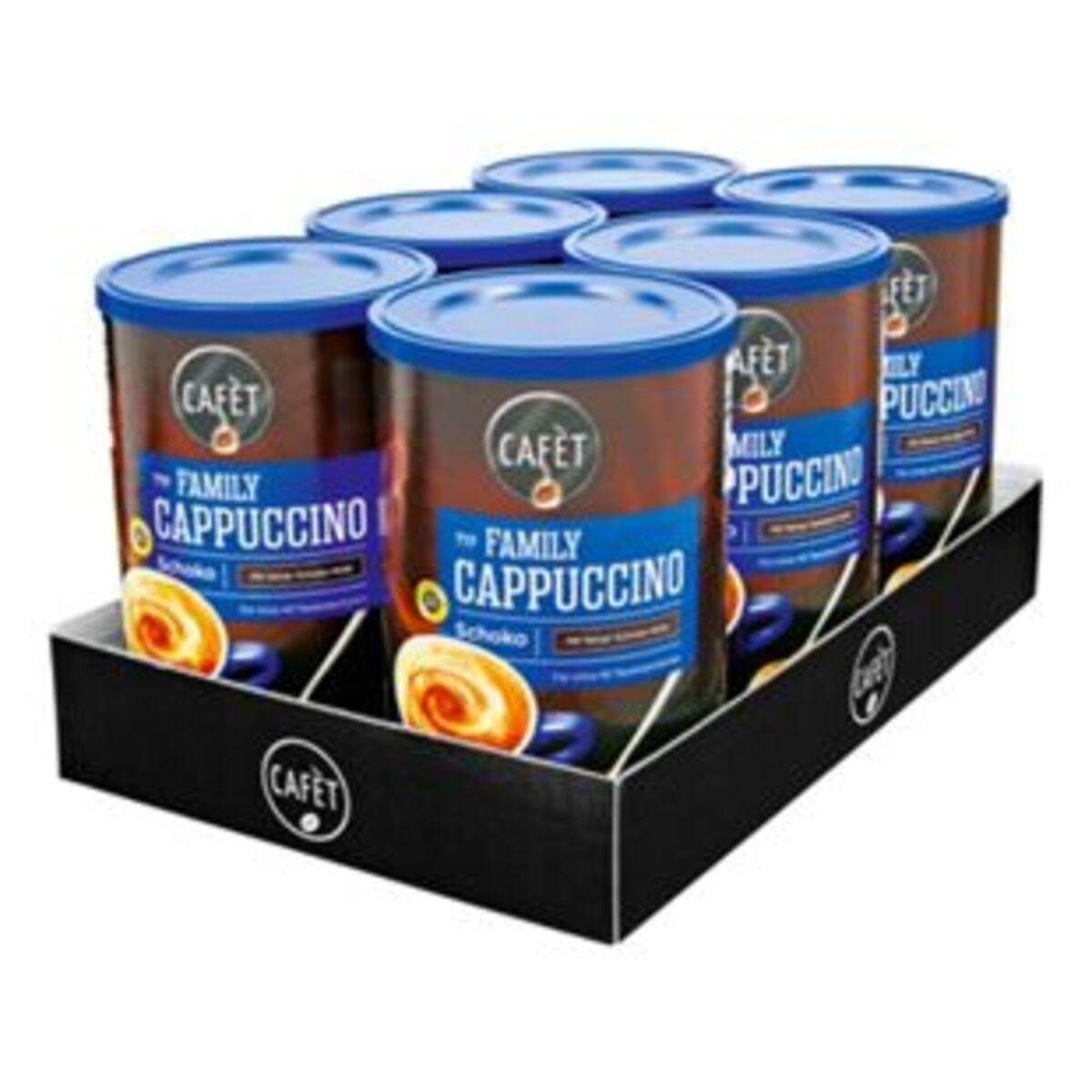 Bild 2 von Cafet Cappuccino Schoko 500 g, 6er Pack